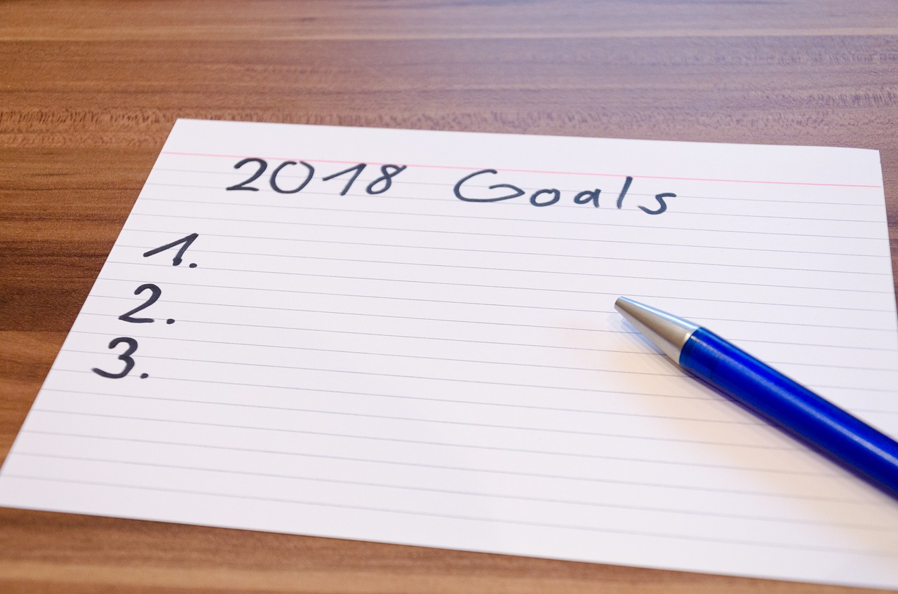Happy New Year! Have you set your goals for 2018?
