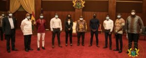 Commendation Ceremony by President of Ghana