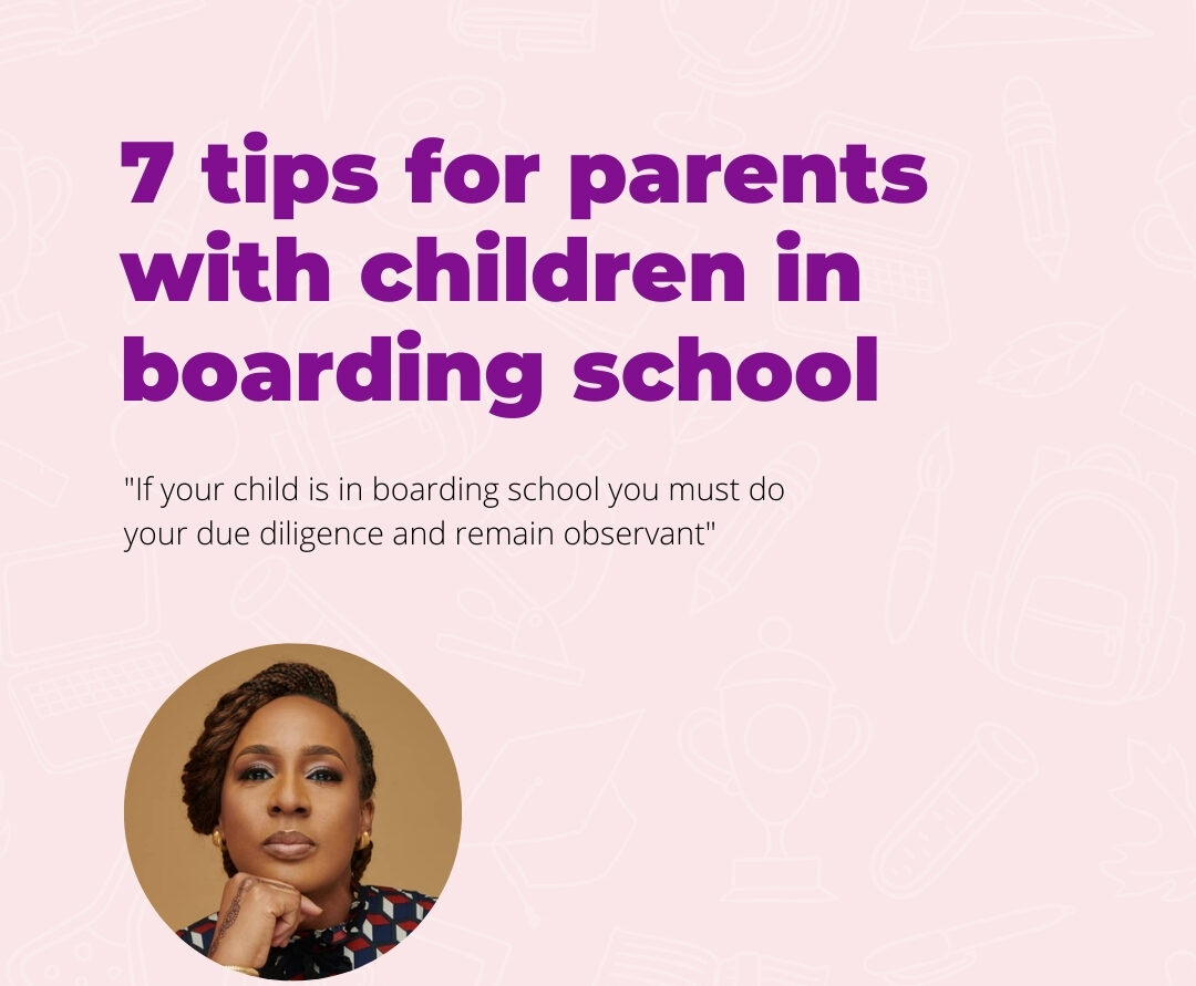 7 tips for parents with children in boarding house